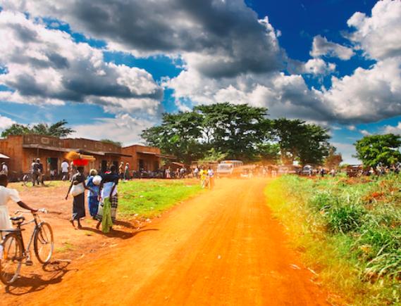 Dusty Village Road