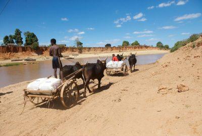 LLIN transportation in the commune of Bemarivo