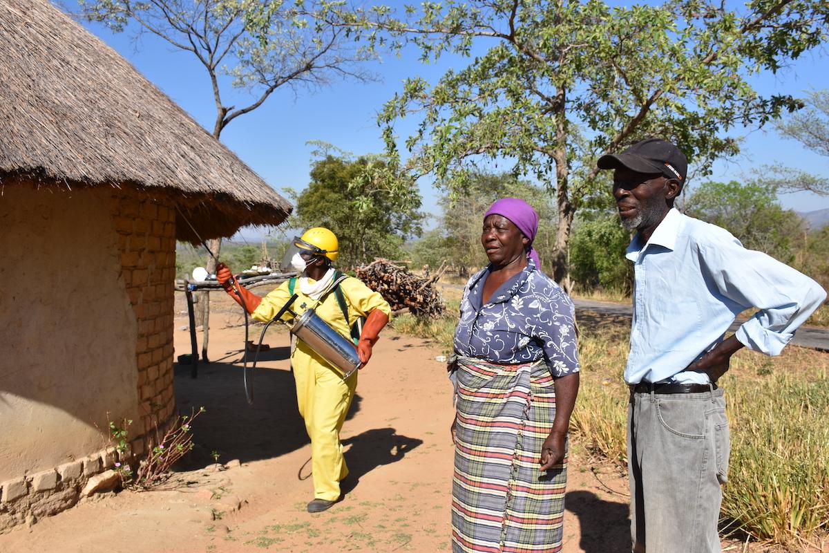 November 2018 spray campaign in Zimbabwe
