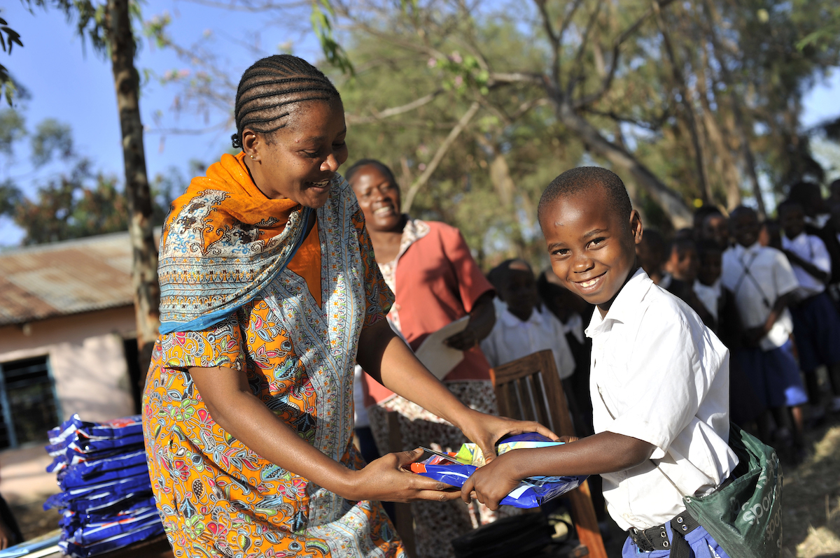 Net Distribution In Mwanza