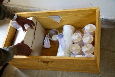 Entomological sample storage