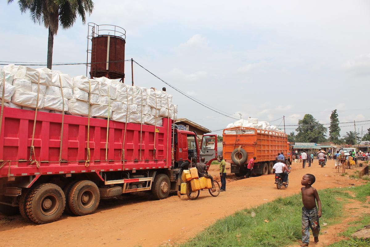 Distribution of nets